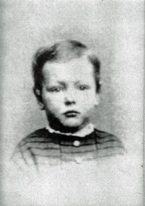 William Cooper as a Child